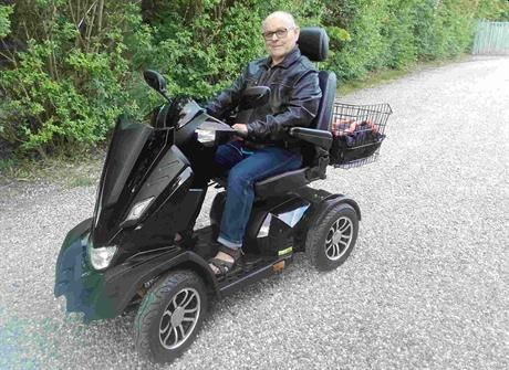 Udlejningsscooter